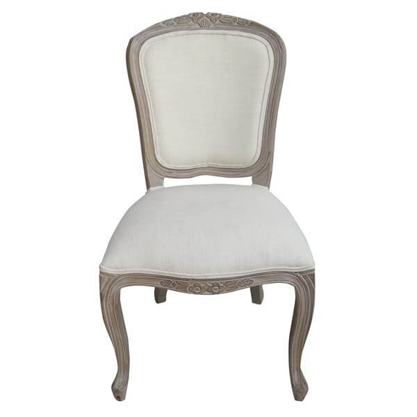 fabric back louis chairs supplier