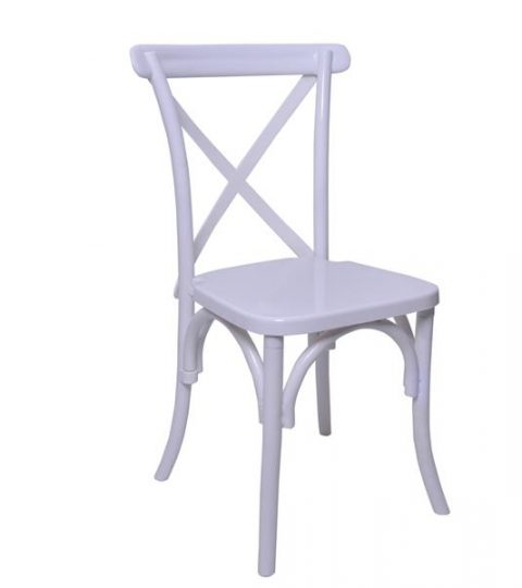 Blossom Resin Crossback Chair