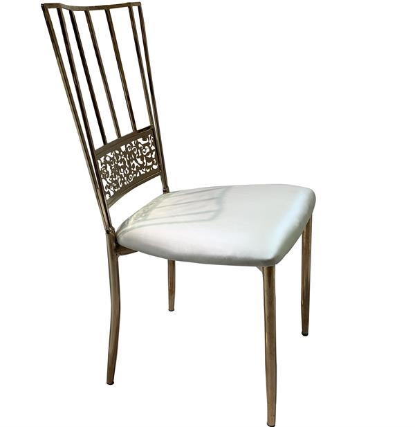 Chameleon chair silver