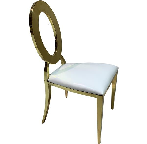 Chameleon chair gold