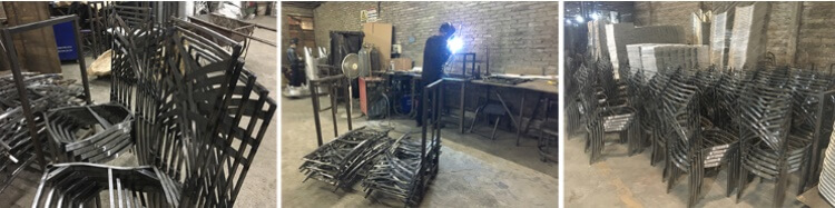 Chameleon chair production processing