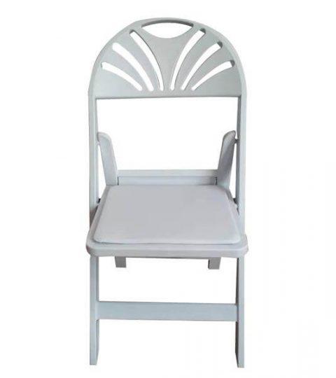 Fan Back Folding Chair