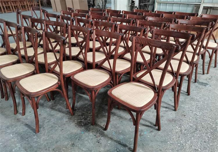 German cross back chairs