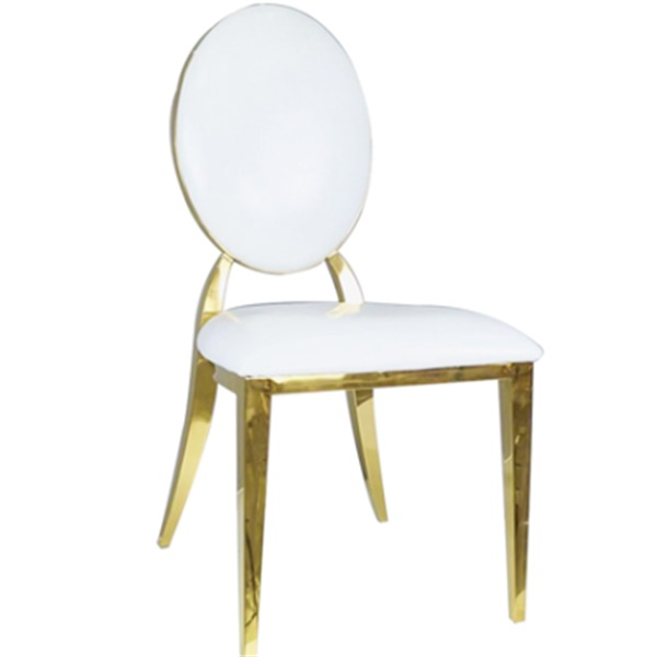 Gold Metal Chairs Wholesaler