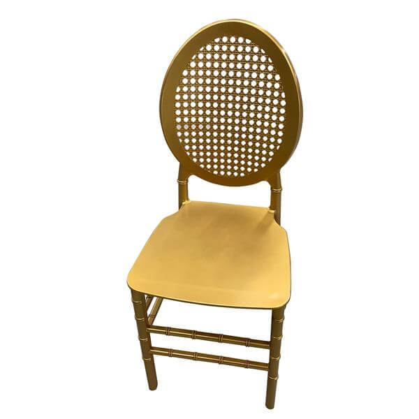 Gold O Resin Chair