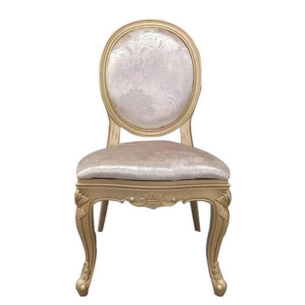 Gold resin Louis Chairs