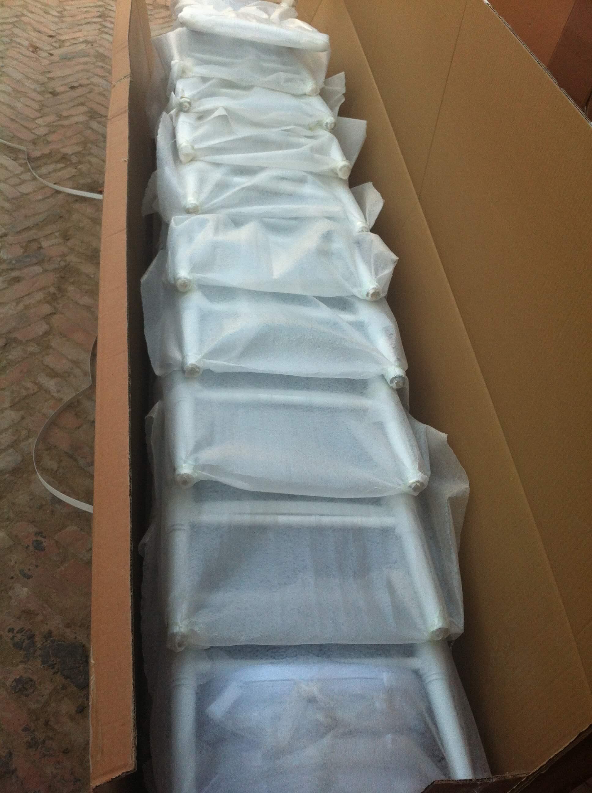 package of chiavari chairs
