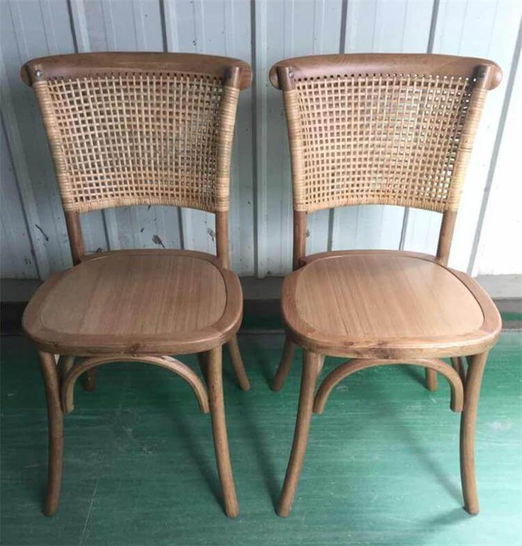 stackable rattan chairs