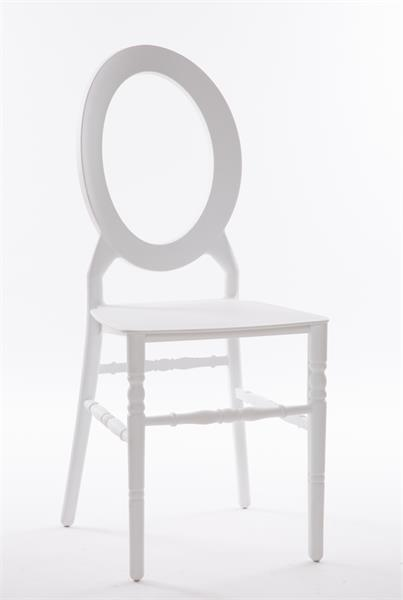 O resin chair