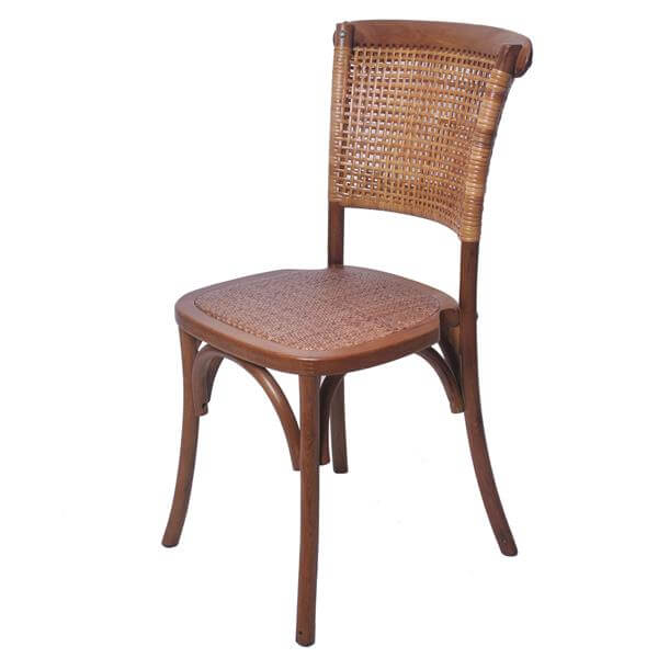 Rattan back chair rattan seat company