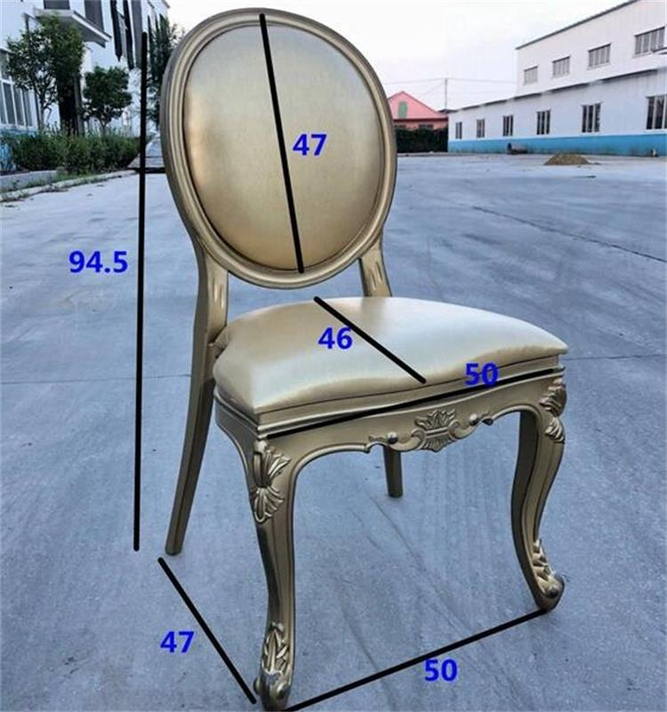 Resin louis chair supplier