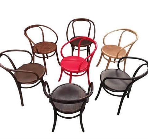 Round Back Thonet Chairs