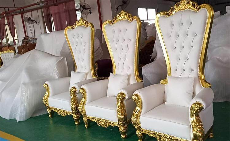 Royal throne chair manufacturer