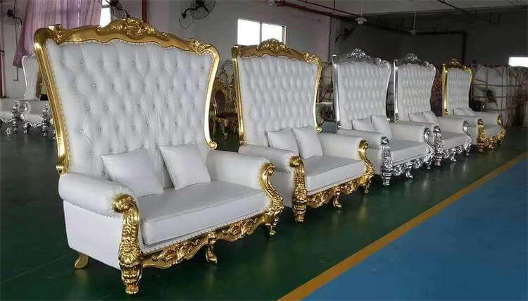 Royal throne chairs manufacturer