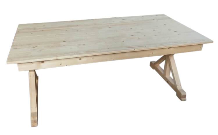 Wholesale wooden Farm Table Price