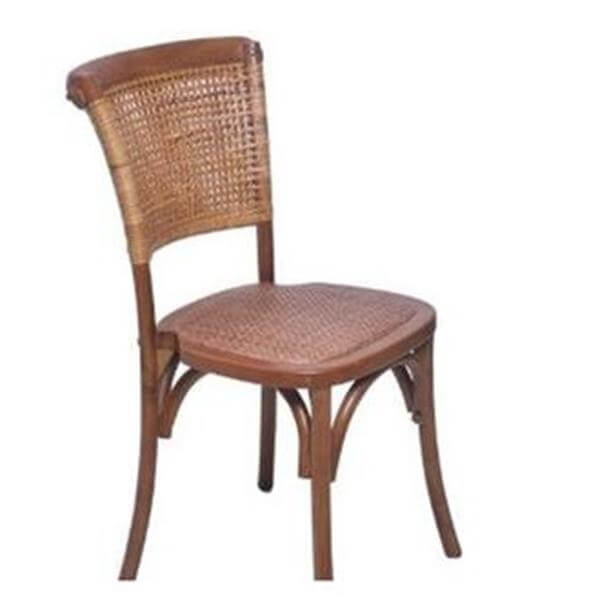 antique natural chairs