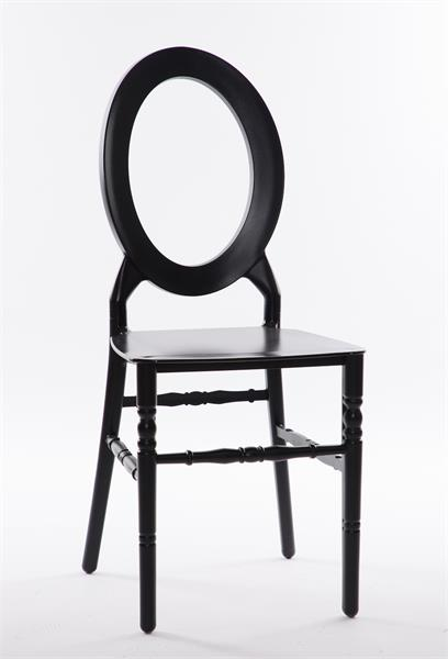 black O chair
