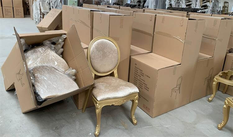 box for louis chairs