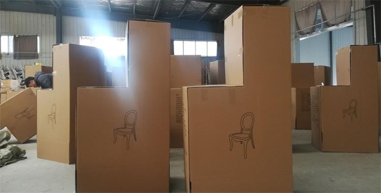 box of resin louis chairs