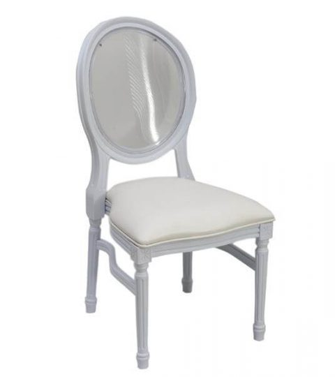 Clear Back Pp Louis Chairs