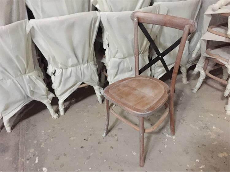 bulk cross back chairs