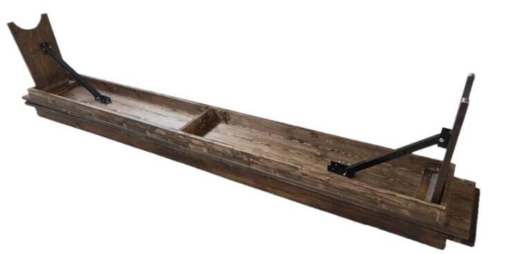 folding benches wood