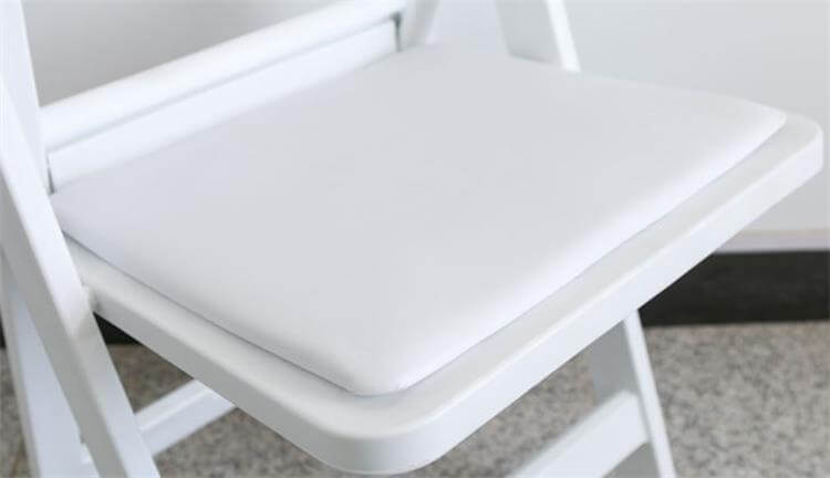 folding chairs removeable pads
