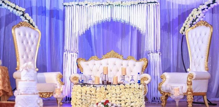 gallery of wedding chairs