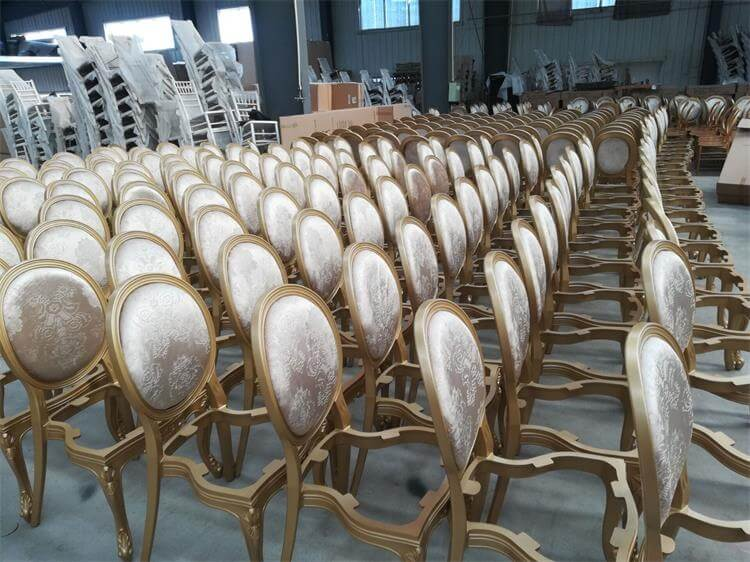 gold resin louis chairs manufacturer