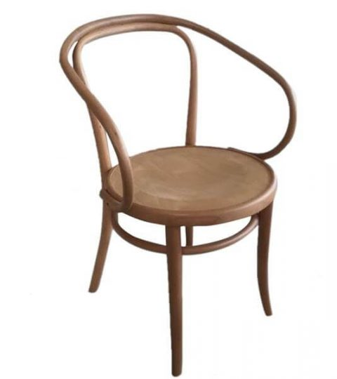 Large Round Back Bentwood Chair