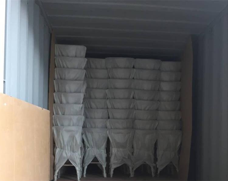 Metal Cross Back Chairs package