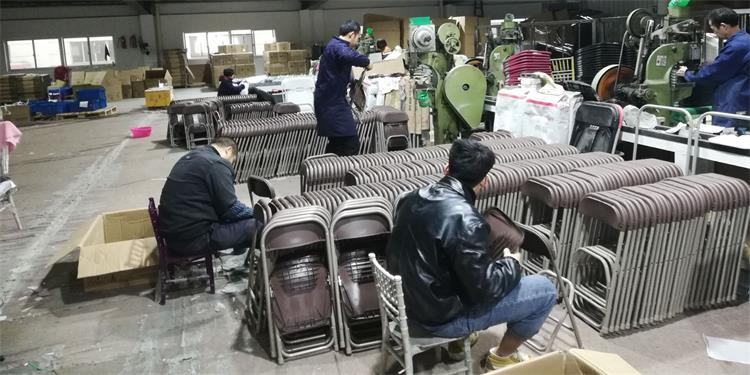 mass production of kids folding chairs