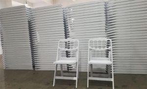 napoleon white folding chair factory