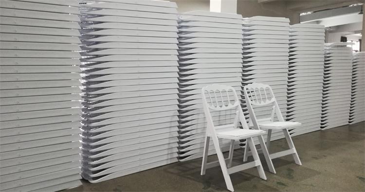 napoleon white folding chair manufacturer