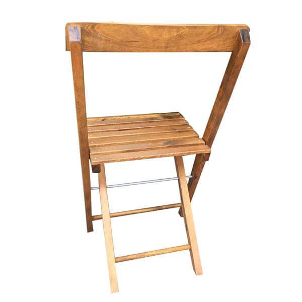 oak folding chair wholesale