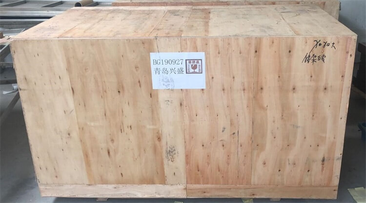 packing of throne chair
