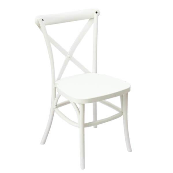 pp resin x-back chair