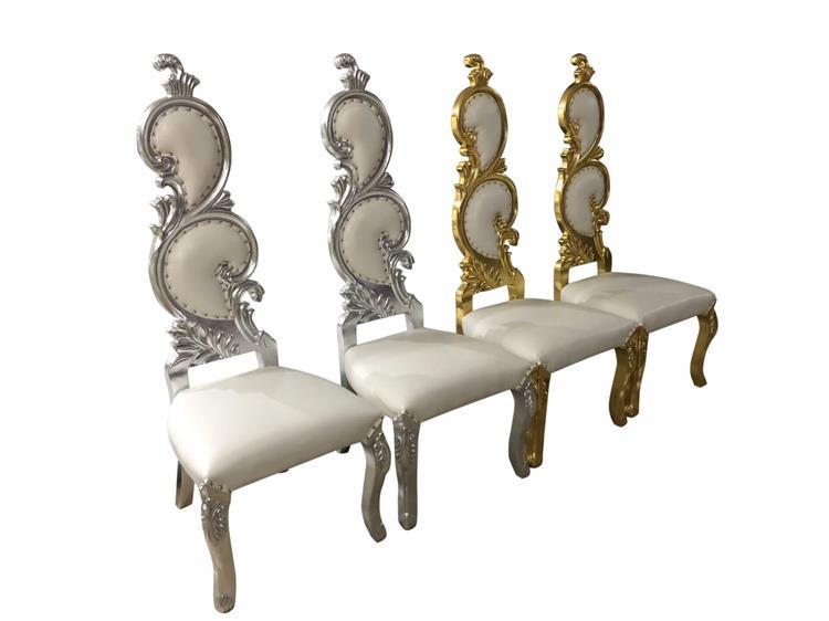 queen chair armless