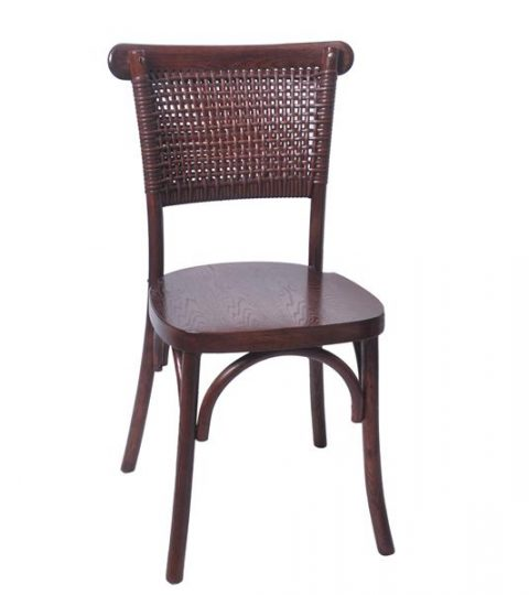 Rattan Back Chair