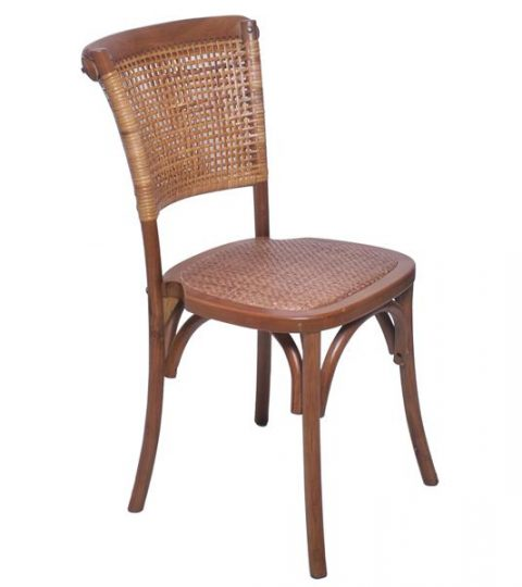 Rattan Back Chair Rattan Seat