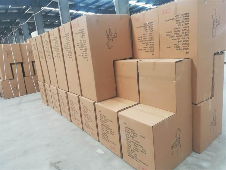 ready rein louis chairs for shipment