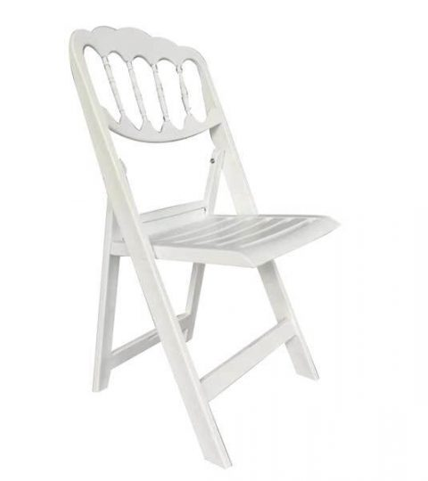 Napoleon Folding Chairs Slat Seats