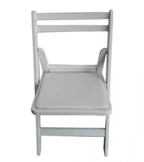 Slat Back Folding Chair