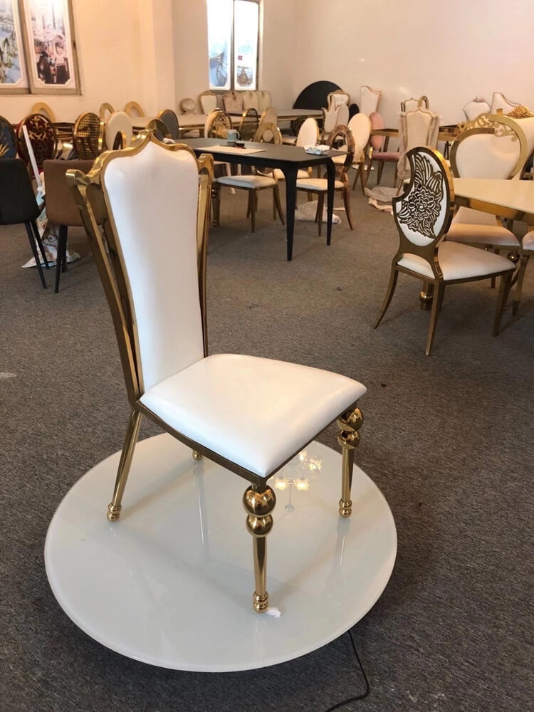 stainsteel chair