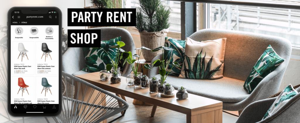chair rental company