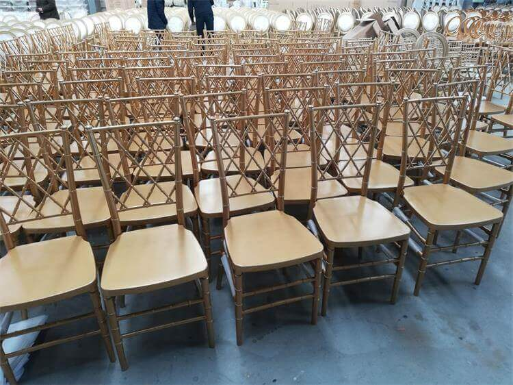 Diamond stackable banquet chairs