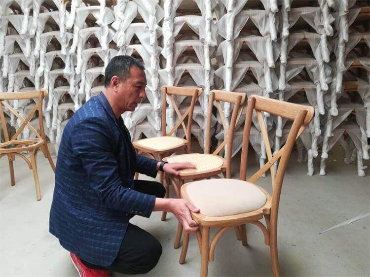 Oak-crossback-chairs