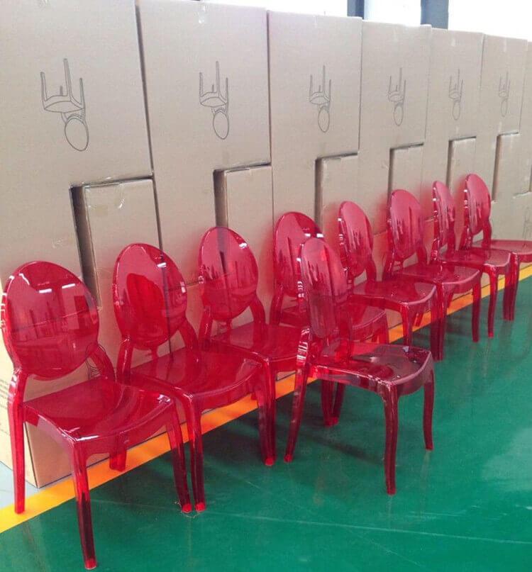 Sophia ghost chairs