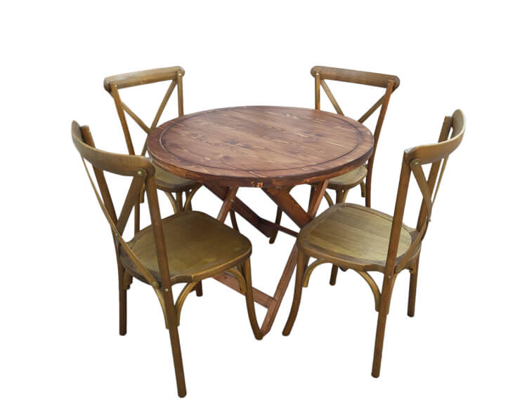 Cross Back Dining Chairs Wholesale