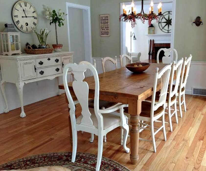 dining farm house table